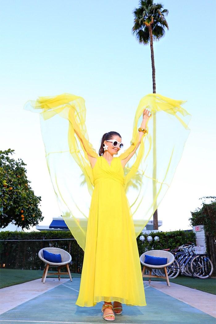 Yellow Caftan Dress | Kelly Golightly