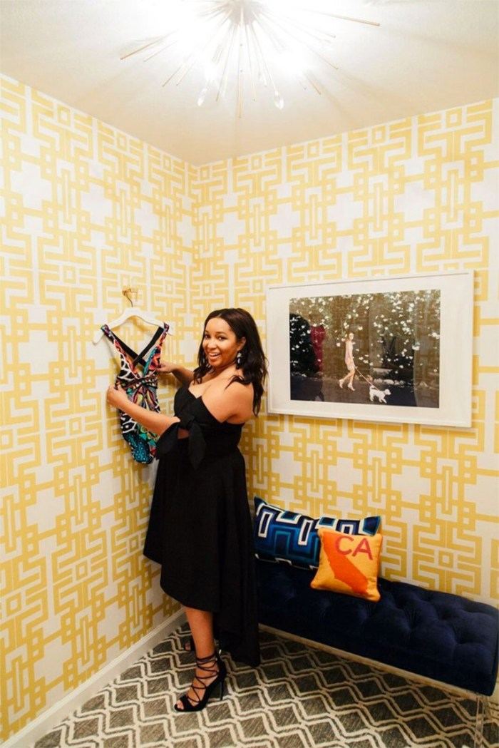 A Chic Changing Room Makeover | Kelly Golightly