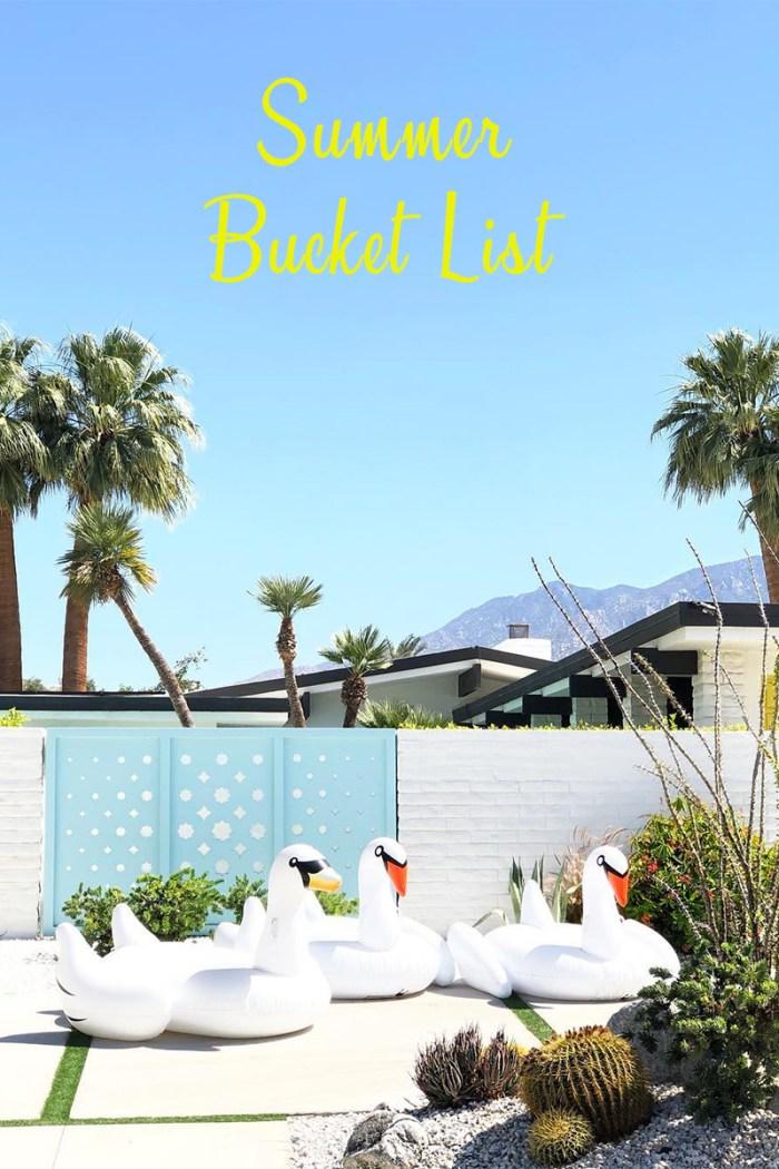 Summer Bucket List | Kelly Golightly