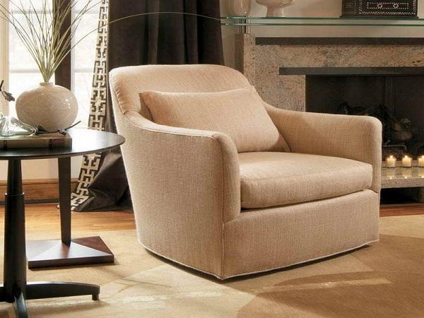 Room Chairs Living Swivel Modern
