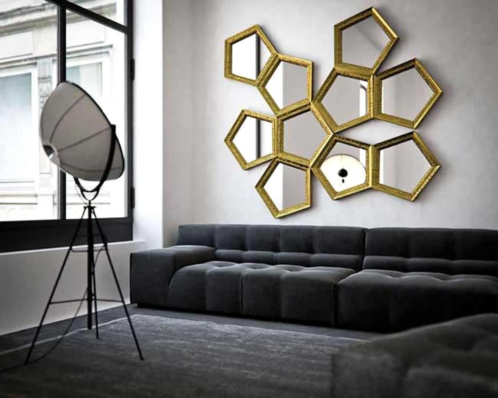 Large Wall Mirrors For Living Room Interior Home Design Tips