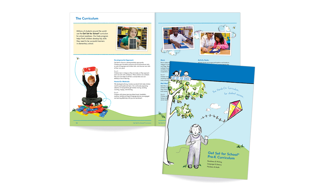Get Set for School Pre-K Curriculum Folder