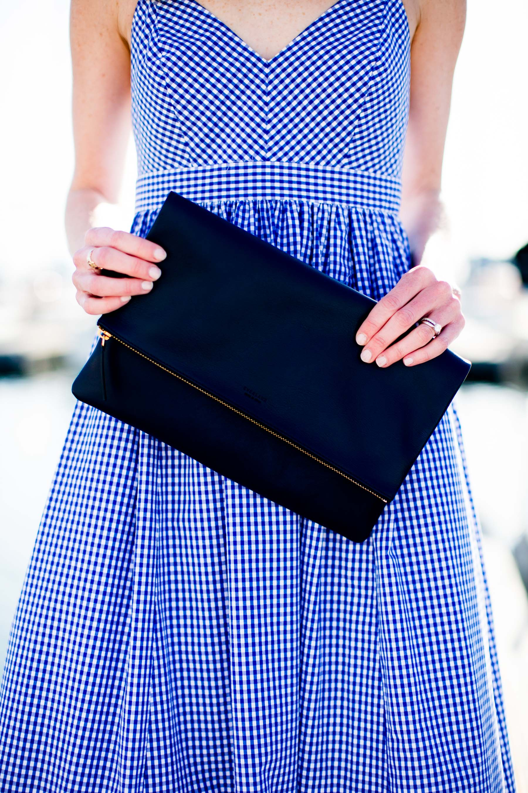 JCrew Gingham Maxi Dress Kelly In The City