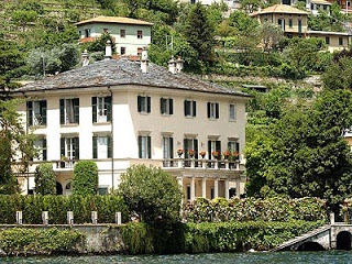 George's Villa on Lake Como Italy