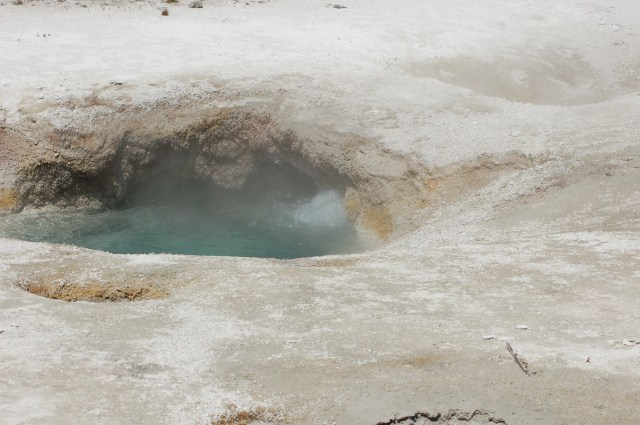 Boiling Water Yellowstone National Park