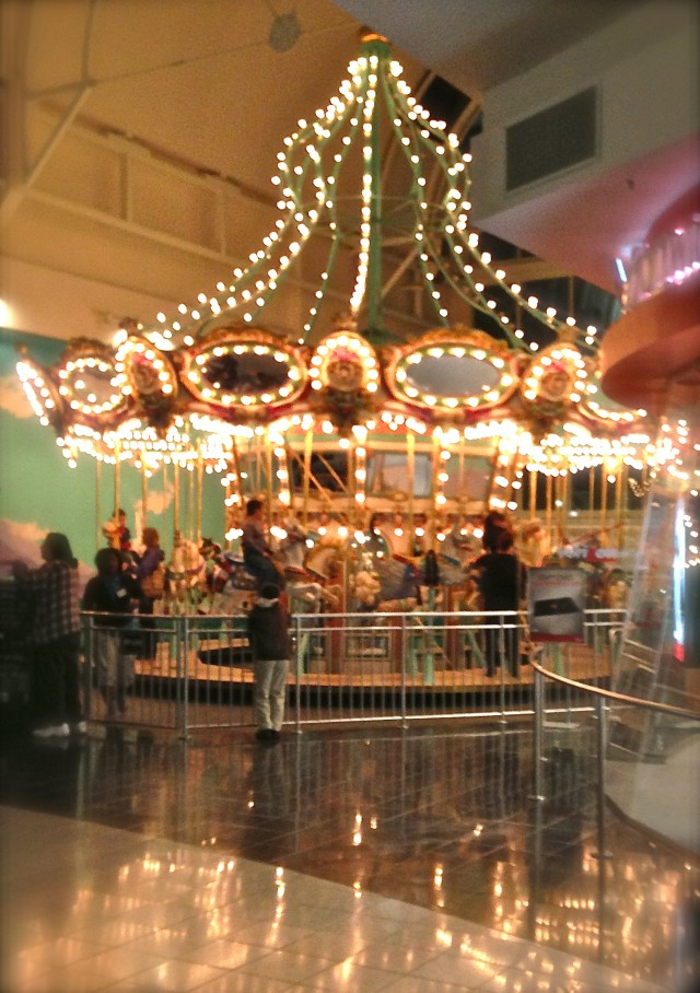 Carousel Arden Faire Mall