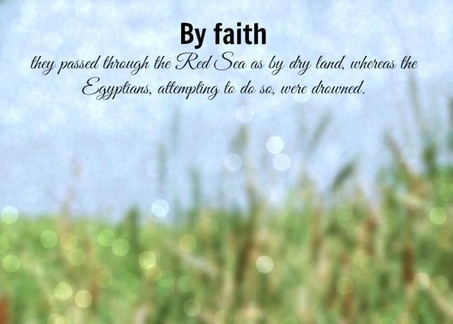 GO FORWARD, by faith.