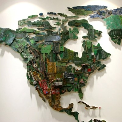 Recycling Inspired Art Project For Kids