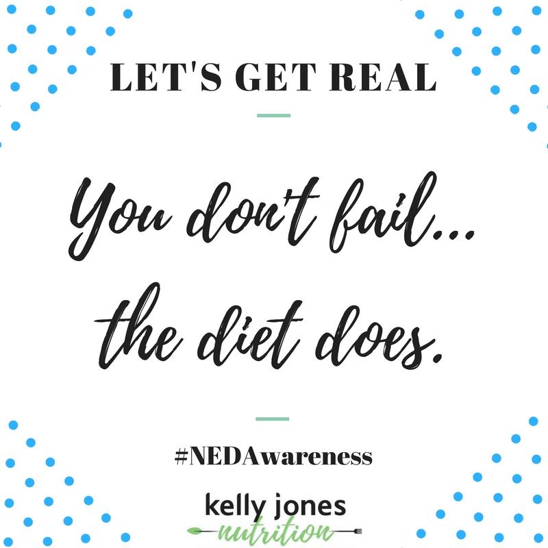 Let's Get Real: NEDAwareness 2018