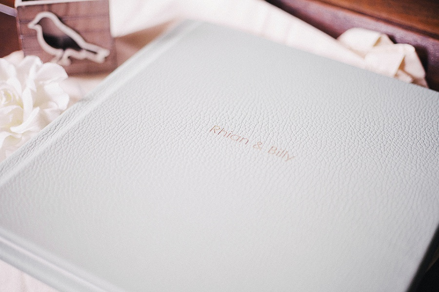 Fine art wedding album - Somerset Wedding Photographer