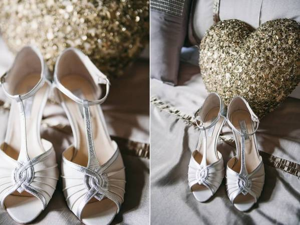 Wedding Shoes - Bridal Prep Photography