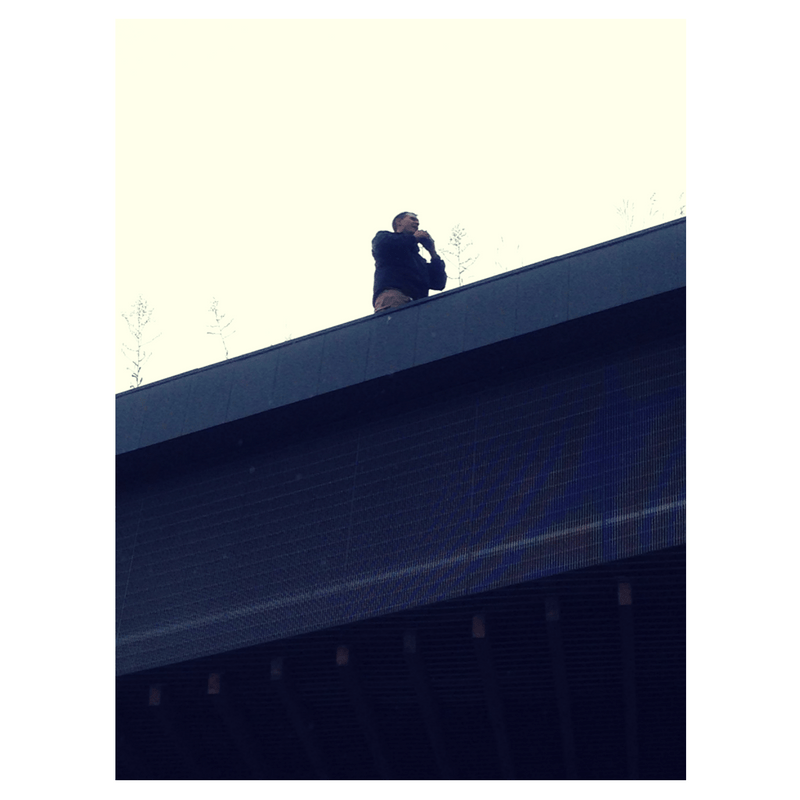 security-on-roof