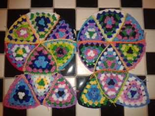 soft furnishings DIY howto piece granny squares