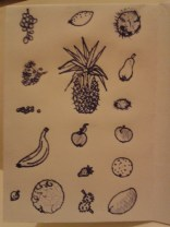 illustrations adrawingaday daily sketches fruit