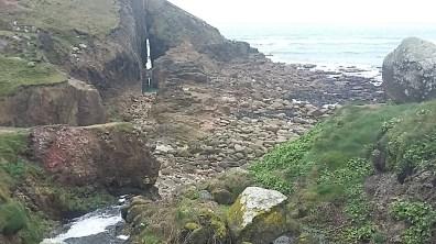 Landscape travel photography Cornwall ocean cliffs