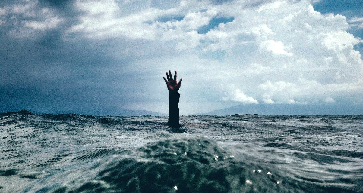 When You Are Drowning In Painful Depression