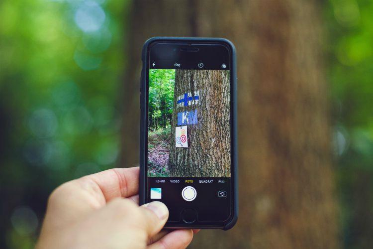 social media versus nature
