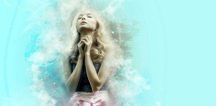 pray wish dream want woman