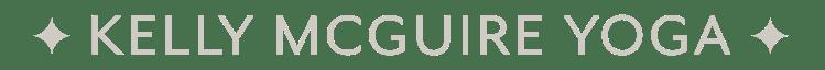Kelly McGuire Yoga Logo 3