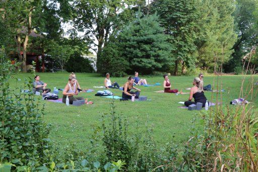 Kelly McGuire Yoga Classes Outdoor