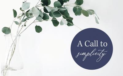 A Call to Simplicity