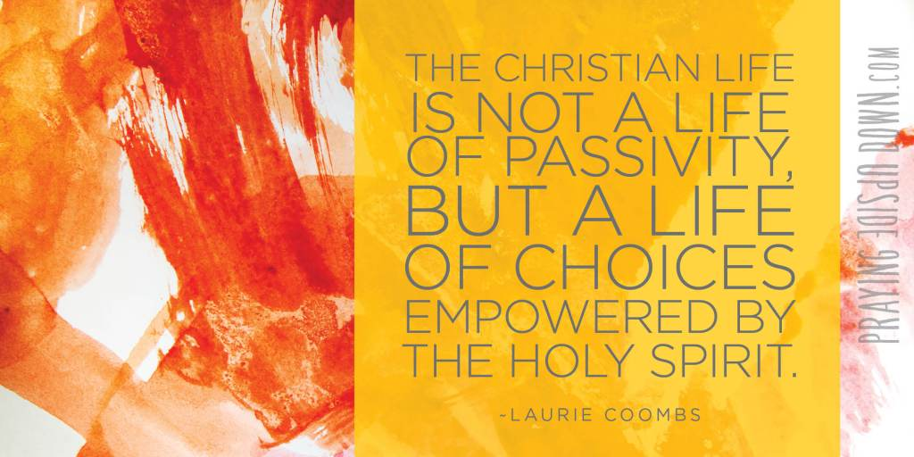 GRAPHIC Christian life passivity