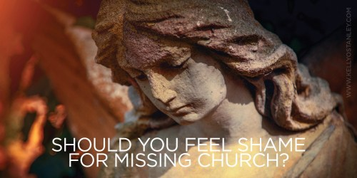 Graphic shame for missing church
