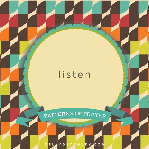 Prayer is meant to be a two-way street, yet we often spend way more time talking than listening. When we can get alone with God and demonstrate that we want to hear from Him, we often will! Besides, aren't you curious what He might have to say?