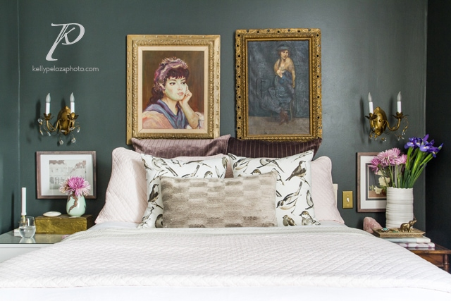 Bedroom designed by EM Interiors Chicago | Interior design photography by Kelly Peloza Photo