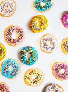 Mixed Media Donuts
