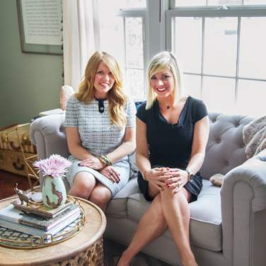 JoAnn and Katie of EM Interiors Chicago