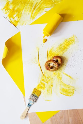 Pretzels and Mustard