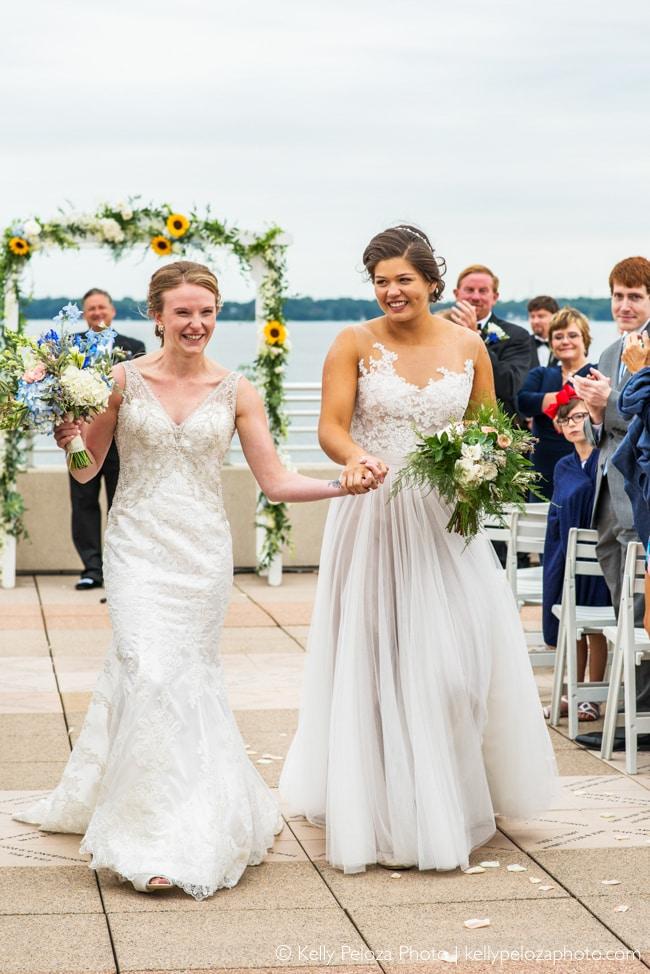 Sophie and Jorie's wedding at Monona Terrace