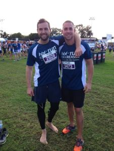 These boys smashed the 12km, coming in at 51 (my twin bro on the left) and 55 minutes for Jase! Amazing!