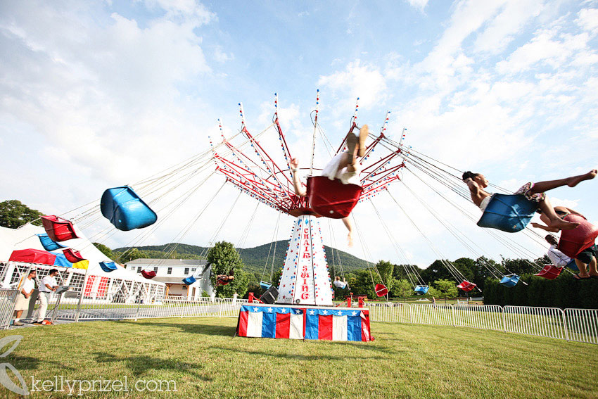 Carnival Ride Wedding  Kelly Prizel