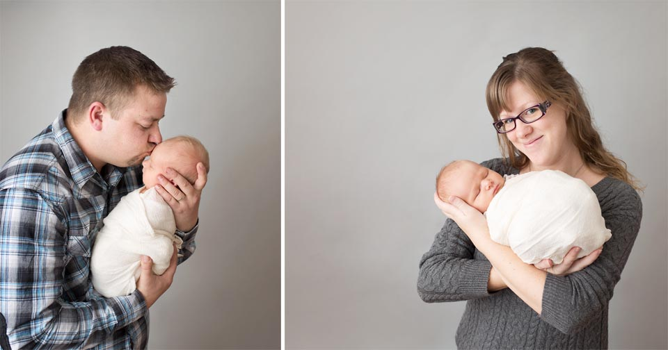 First family photos with new baby in Keswick