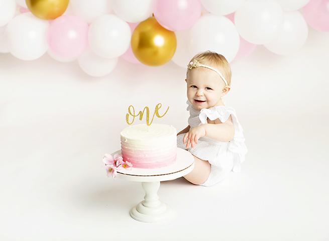 First birthday photoshoot