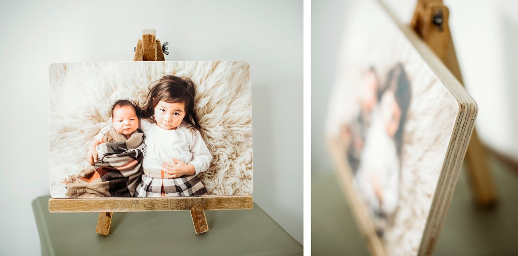 Custom wood photography art in Georgina