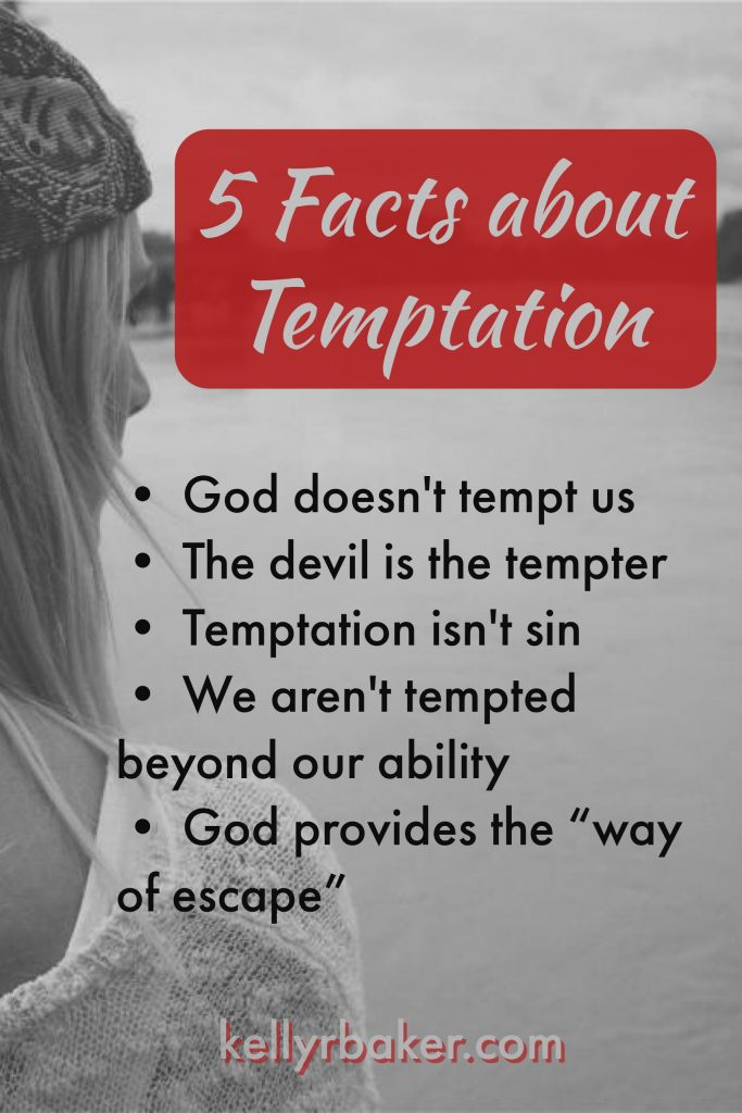 "We are all tempted, but if we dwell on a suggestion of sin we will surely fall. God provides the ""way of escape."""