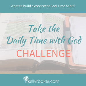 The Daily Time with God Challenge will help you: End inconsistency in your walk with God that stunts your growth and leaves you withering in guilt. Establish the habit of meeting with God daily by laying both practical and spiritual foundations. Strengthen spiritual disciplines and increase a sturdiness in your spirit to walk in victory. Thrive spiritually as you position yourself daily to receive God's love and know Him more.