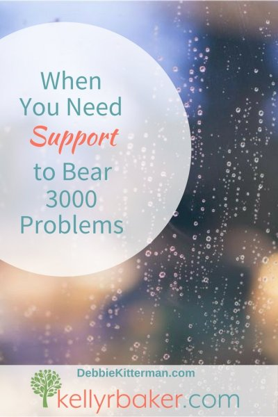 Got 3,000 problems? David did and when it was all said and done he could testify that God was his support. God is your support, too.