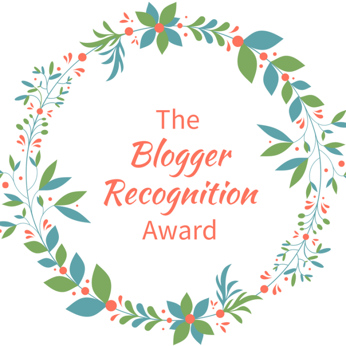 Honoring Bloggers with the Blogger Recognition Award