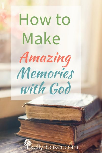 Relationships are constructed of memories. When I think of a close friend, the warm memories flood my heart. It's the same with God. Here is how to make amazing memories with God. #thrivinginchrist #memories #relationships #dailytime #quiettime #bible #God