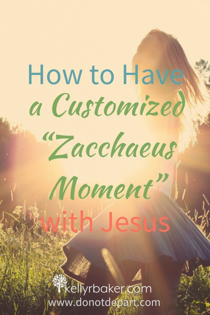"When Jesus is passing by, He stops and steps into the lives of those who are looking for Him. He did this with a Jewish tax collector named Zacchaeus. I call it a ""Zacchaeus moment."" In this post, I'm sharing portions of his story and some incredible truths about how you can have a Zacchaeus moment, too. #ThrivingInChrist #DailyTime #GodTime #devotions #quiettime #Bible #spiritualgrowth #jesus"