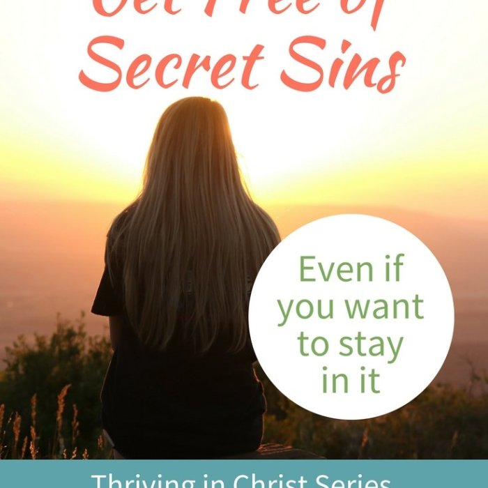 How to Get Free of Secret Sins and Thrive in Christ (Even If You Want to Stay in It)