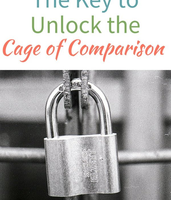 The Key to Unlock the Cage of Comparison