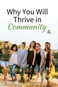 Why You Will Thrive in Community