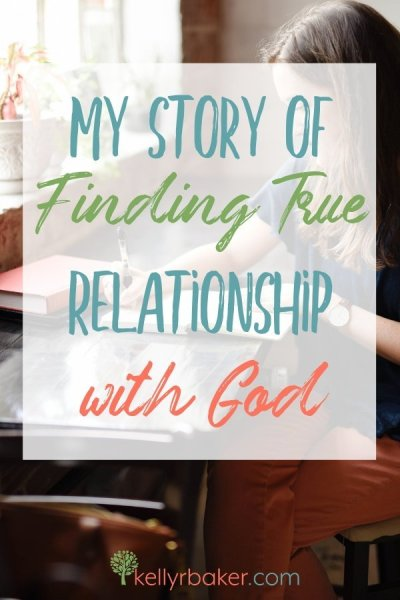 "To me, God was a ""God of rules,"" and we definitely didn't have a relationship. This is my story of finding true relationship with God. #ThrivingInChrist #relationship #God #prodigal #salvation #testimony #hearttransformation"