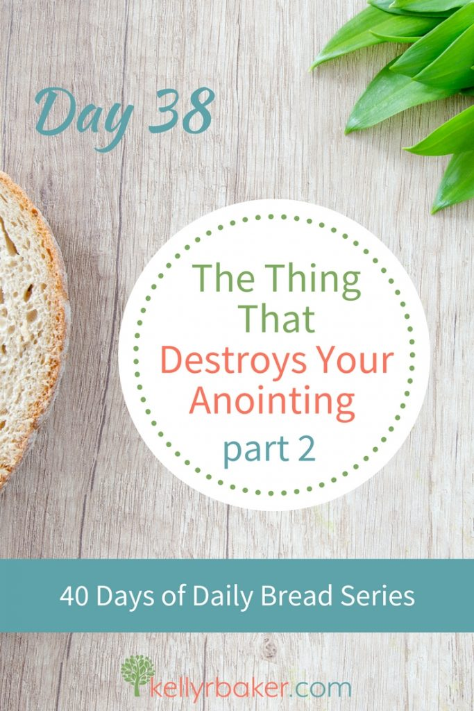 Samson's life is a warning to us. The devil will harass us daily until we let down our guard and open the door to him. But disobedience has consequences. #ThrivingInChrist #DailyBread #Samson #BibleStudy #consequences #disobedience