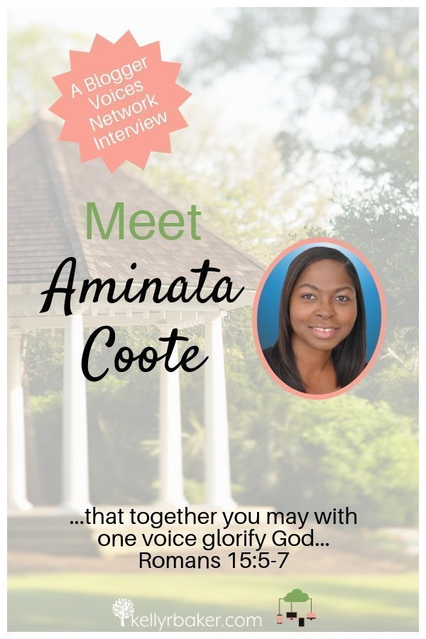 You will enjoy this chat with Blogger Voices Network member Aminata Coote, sprinkled with wisdom and encouragement. Join us! #BloggerVoicesNetwork #BVNetworkParty #ThrivingInChrist #hebrews12endurance #interview #blogger #wisdom #spiritualgrowth #Christian #blog
